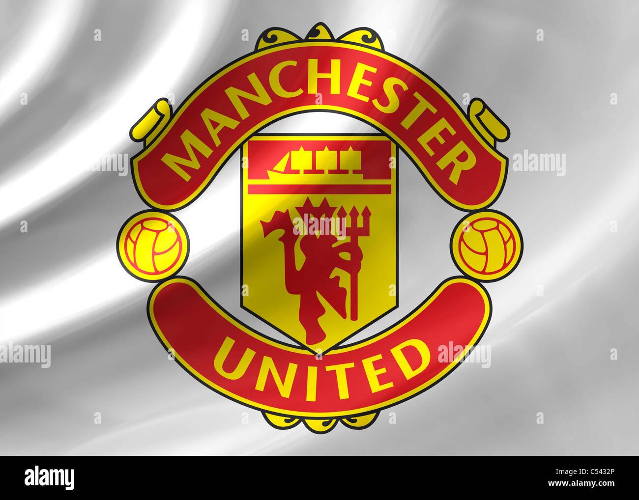Manchester united flag logo symbol icon stock photo 37584254 alamy manchester united flag logo symbol icon voltagebd Images