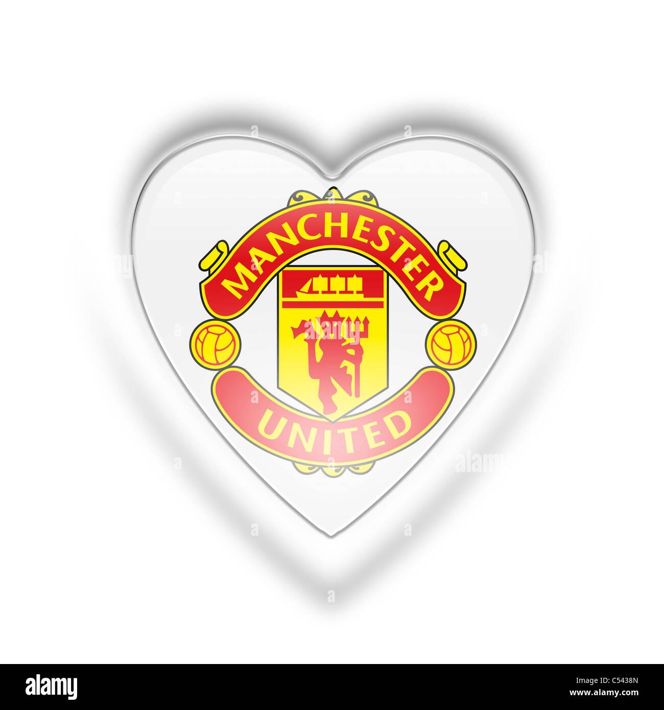 Manchester united flag logo symbol icon stock photo 37584421 alamy manchester united flag logo symbol icon voltagebd Images