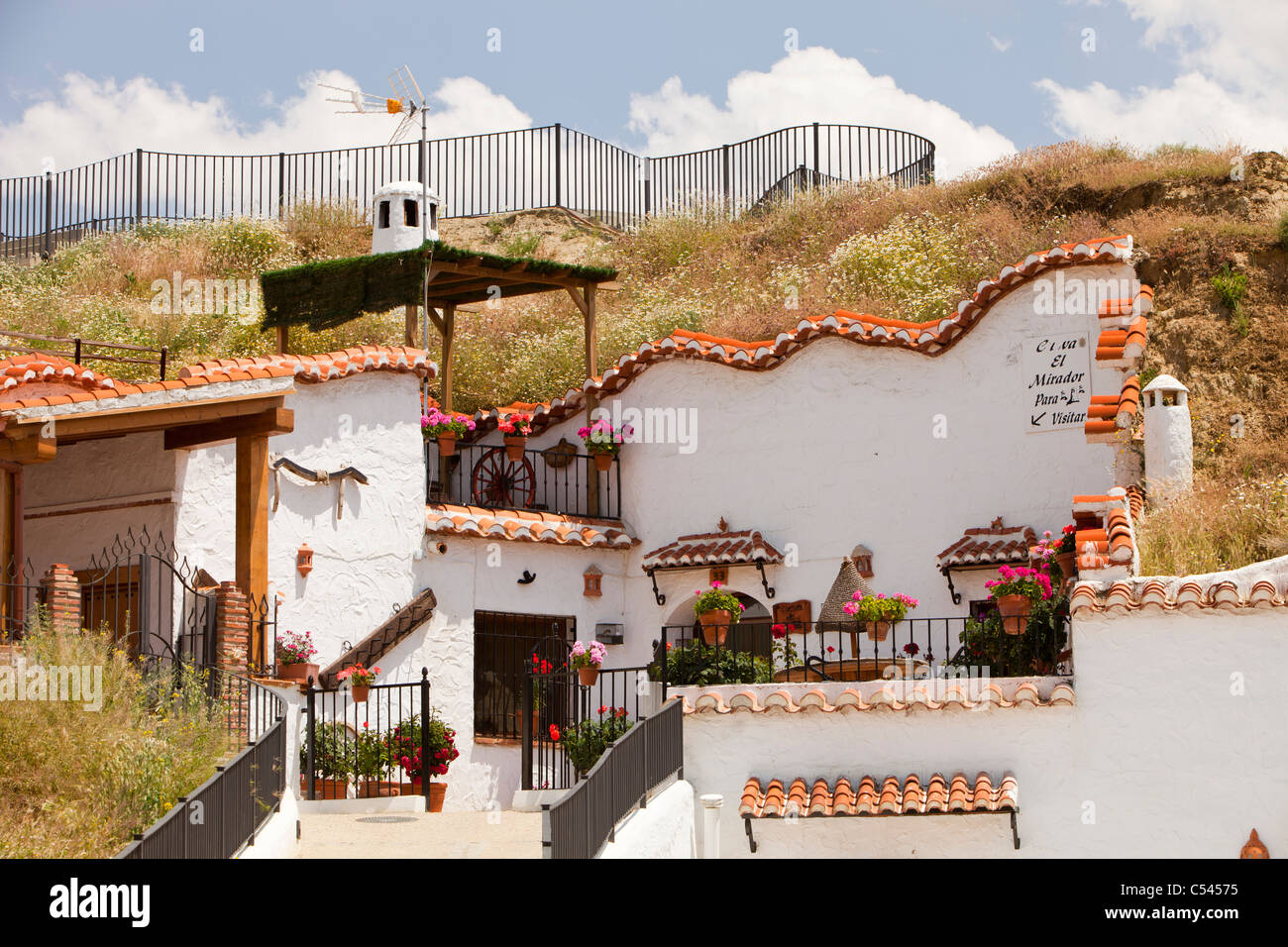 Old Cave Houses In Guadix Andalucia Spain Up To 10 000