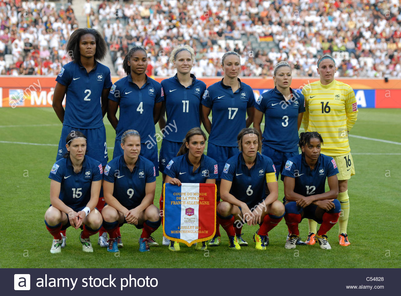 Football - Womens World Cup Germany vs France 5-7-2011 ...