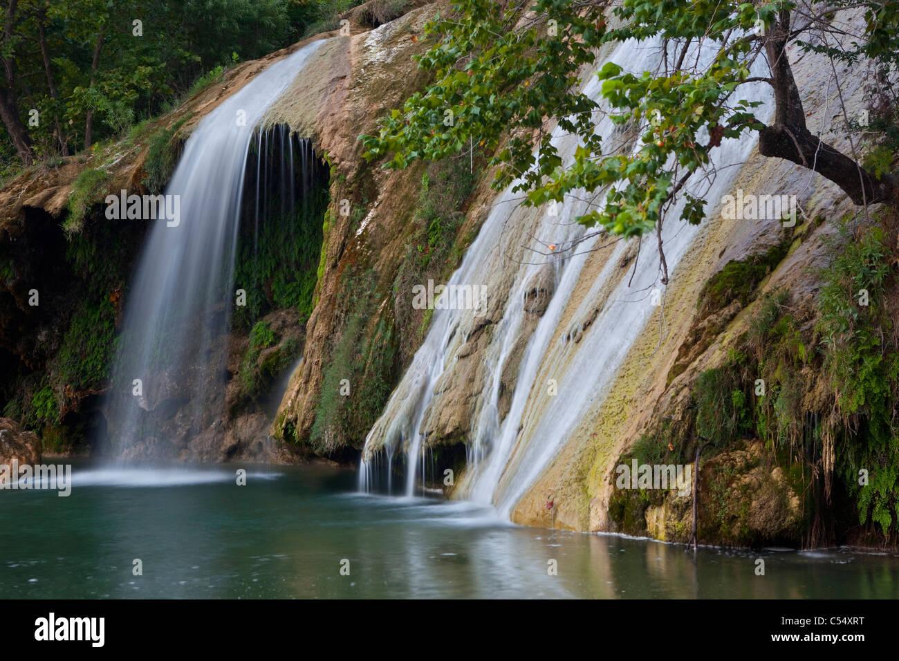 mountains waterfalls forest usa - photo #28