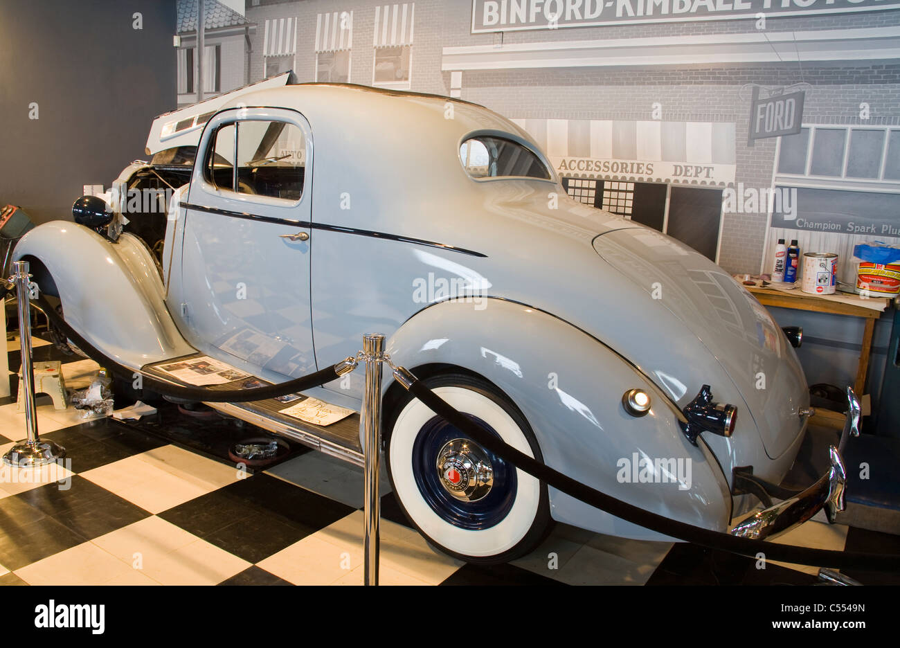 Antique Car In A Museum  Packard Browning Kimball Car Museum - Classic car museums in usa