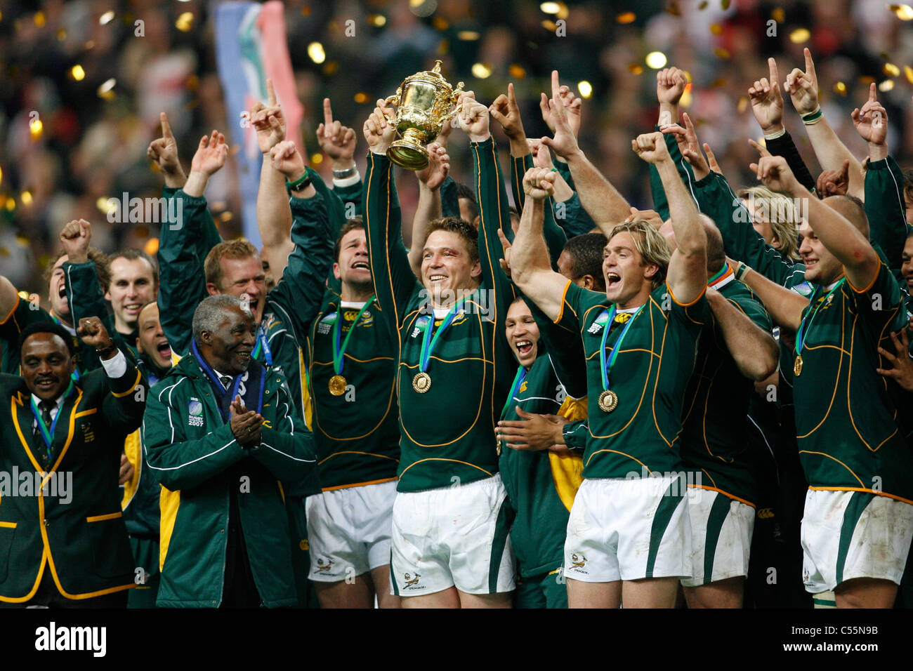 South Africa Winner of the Rugby World Cup 2007 FINAL ...
