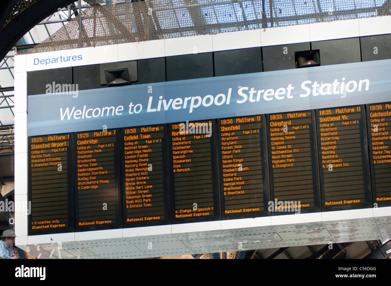 Station information. Liverpool Street station, London Opening hours: Monday – to Tuesday – to Wednesday – to