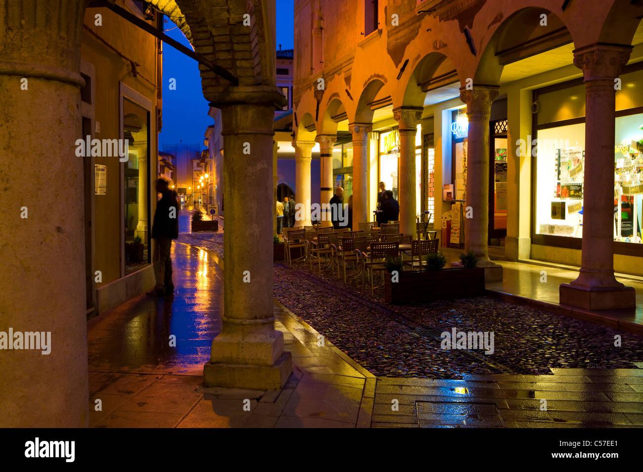 spilimbergo italy europe friuli venezia giulia town city dusk stock photo 37659049 alamy. Black Bedroom Furniture Sets. Home Design Ideas