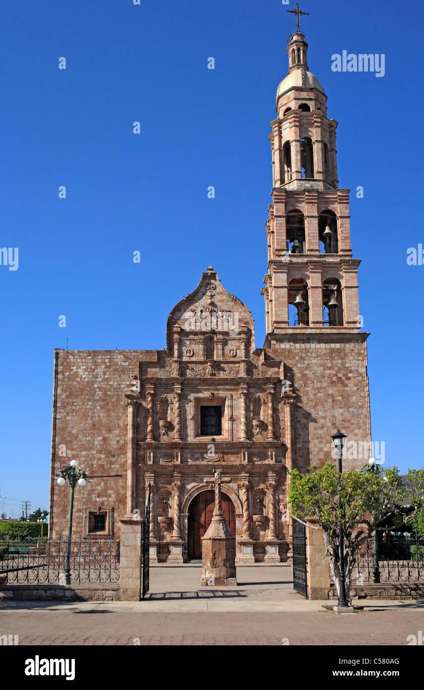 Central America American Architecture Building City Town Latin Mexico Mexican El Rosario State Sinaloa