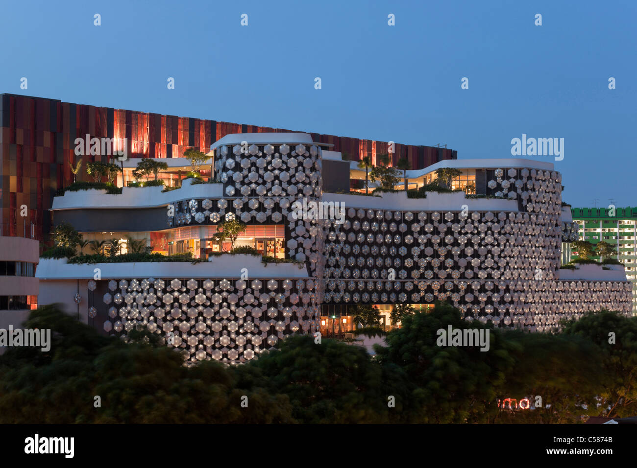 Terrific Exterior Of Iluma Shopping And Cinema Complex In Singapore By Woha Largest Home Design Picture Inspirations Pitcheantrous