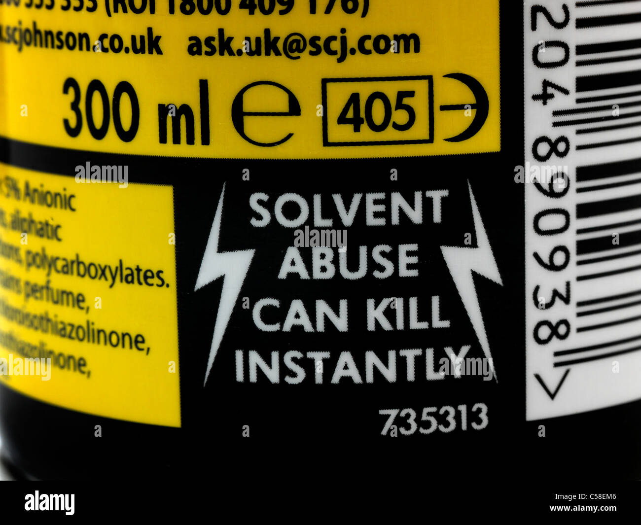Solvent Abuse - VSA | Solvent Abuse