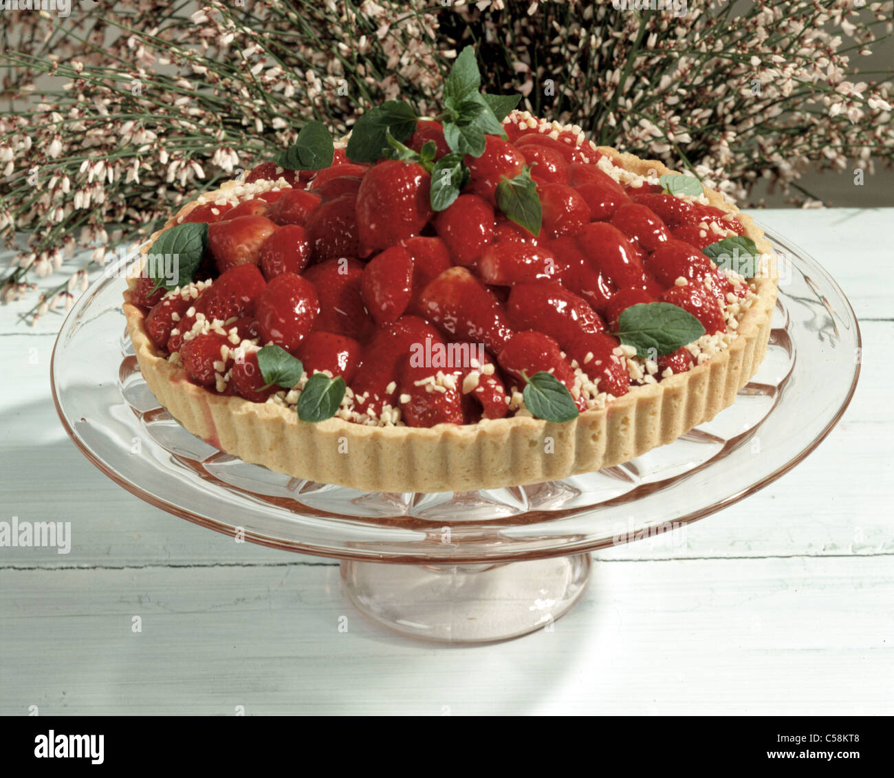 Strawberry Campari Tart Recipes — Dishmaps