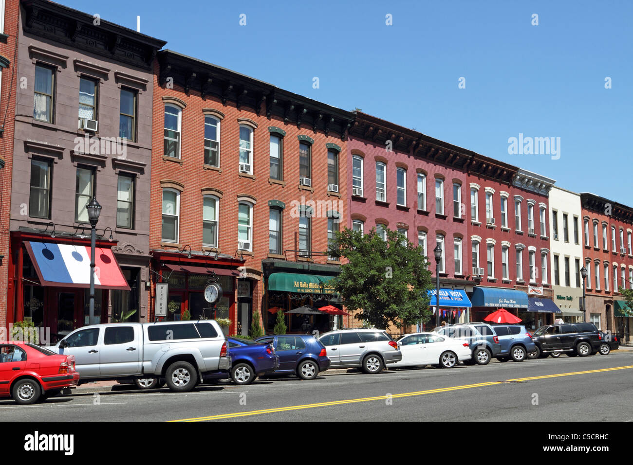 Apartment Building Hoboken Nj many 19th century row houses and condominium and apartment
