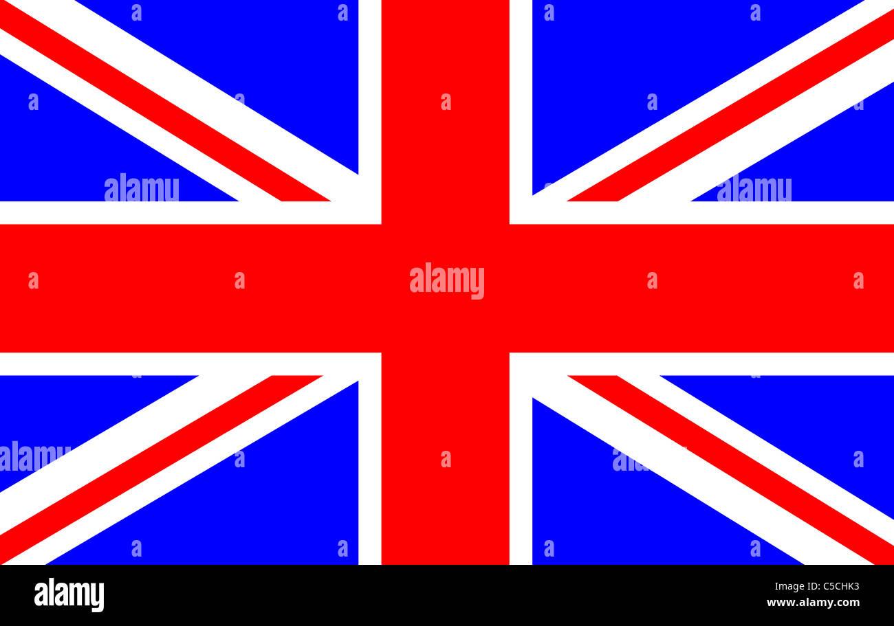 Drawing of the British Flag (Union Jack Stock Photo ...