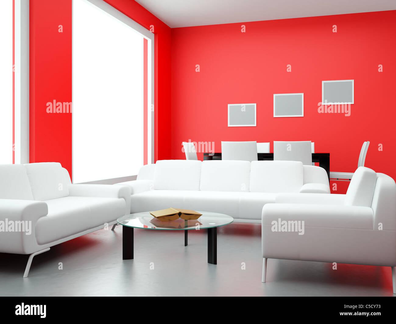 Interior of the modern room high resolution image 3d for High resolution interior images