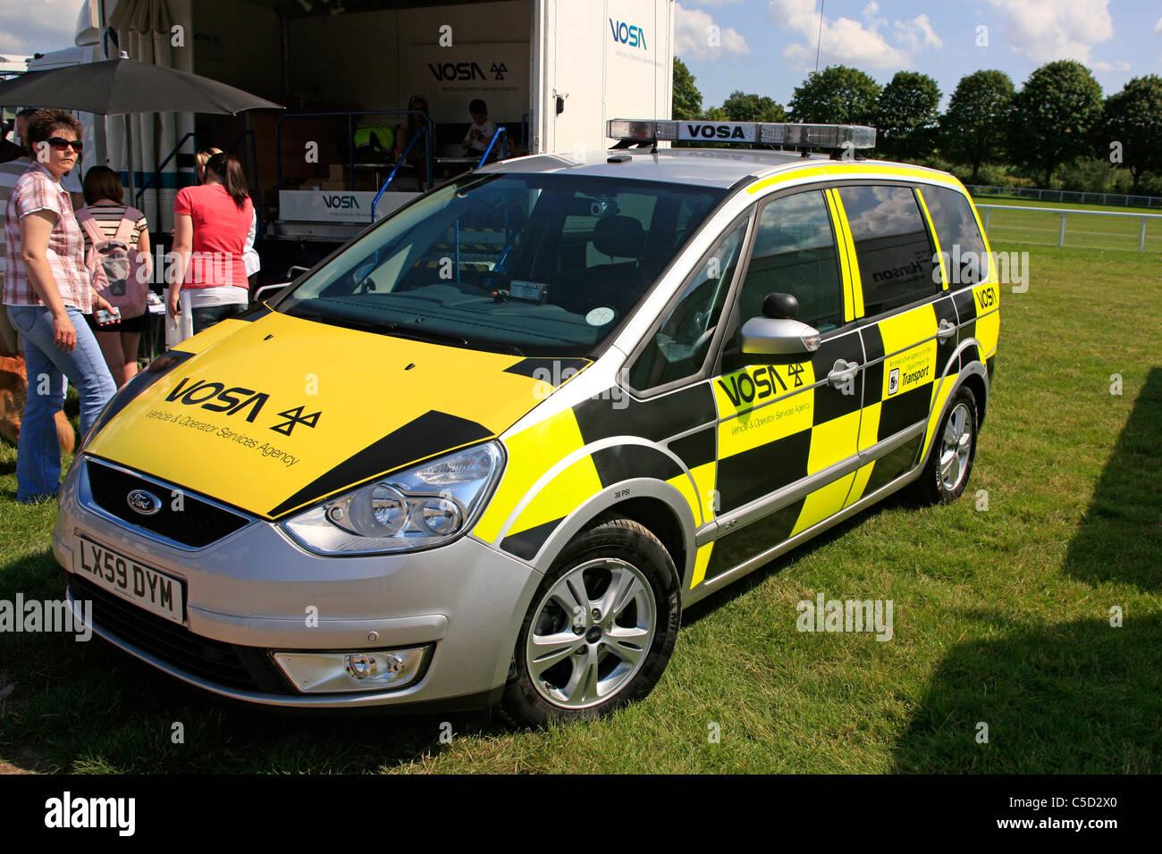 Vosa British Vehicle Road Worthiness Testing Agency Car Stock
