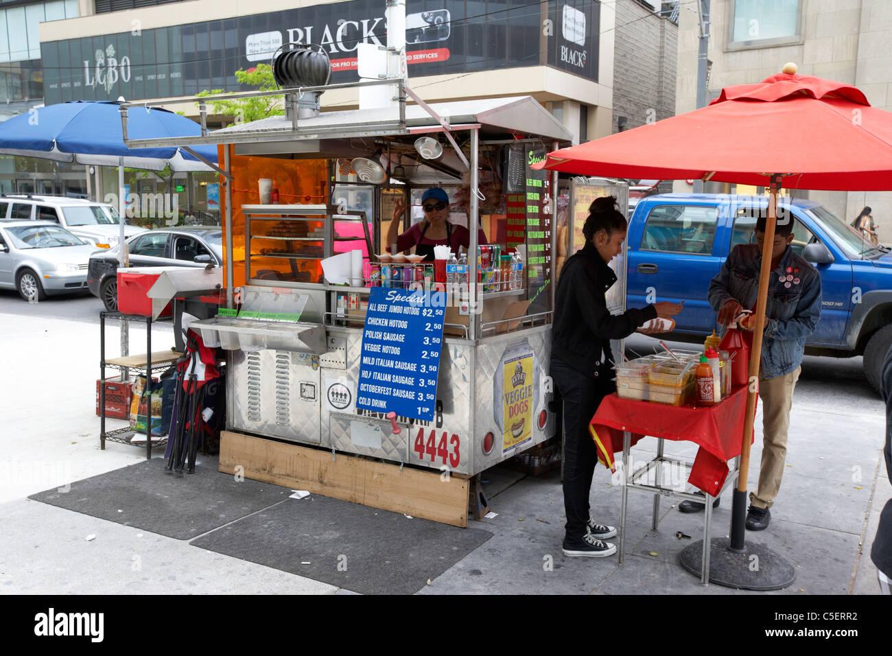 Hot Dog Cart Canada