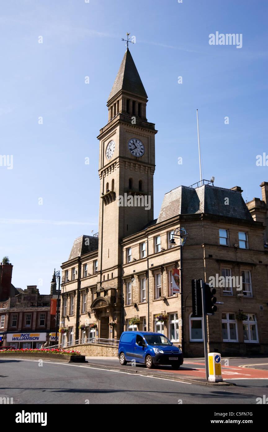 Chorley Town Hall, Chorley, Lancashire Stock Photo ...