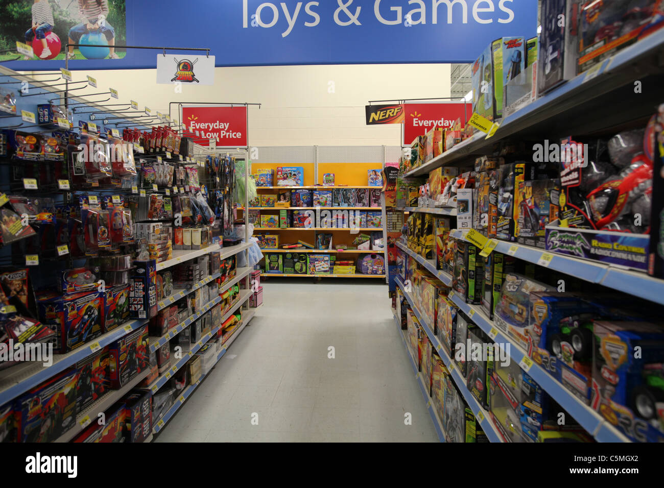 Walmart Toys and Games section in Walmart supercentre in Kitchener ...