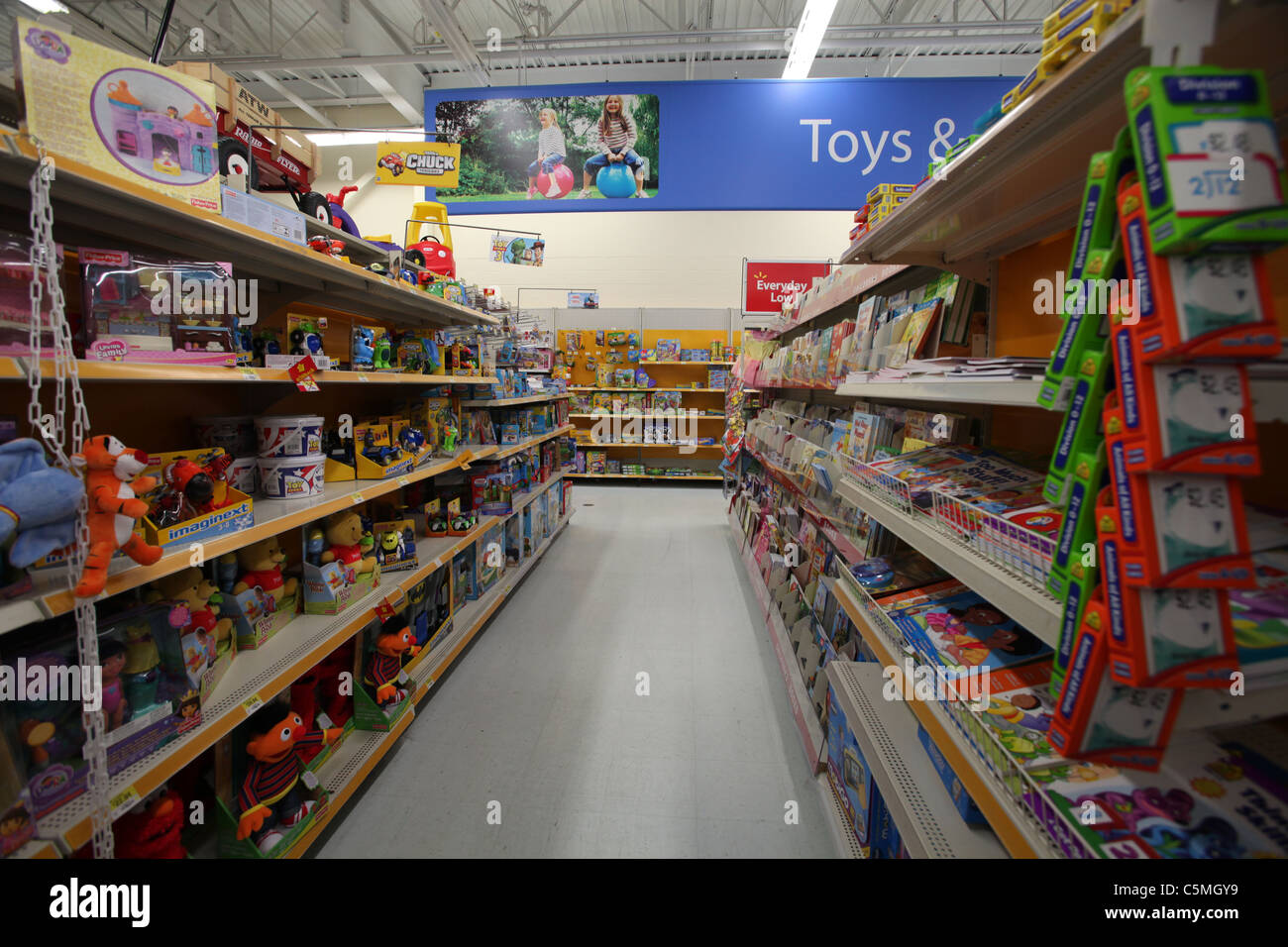 Toys From Walmart : Walmart toys and games section in supercentre