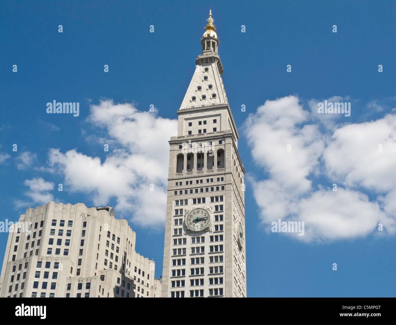 met life tower 1 madison avenue madison square park nyc