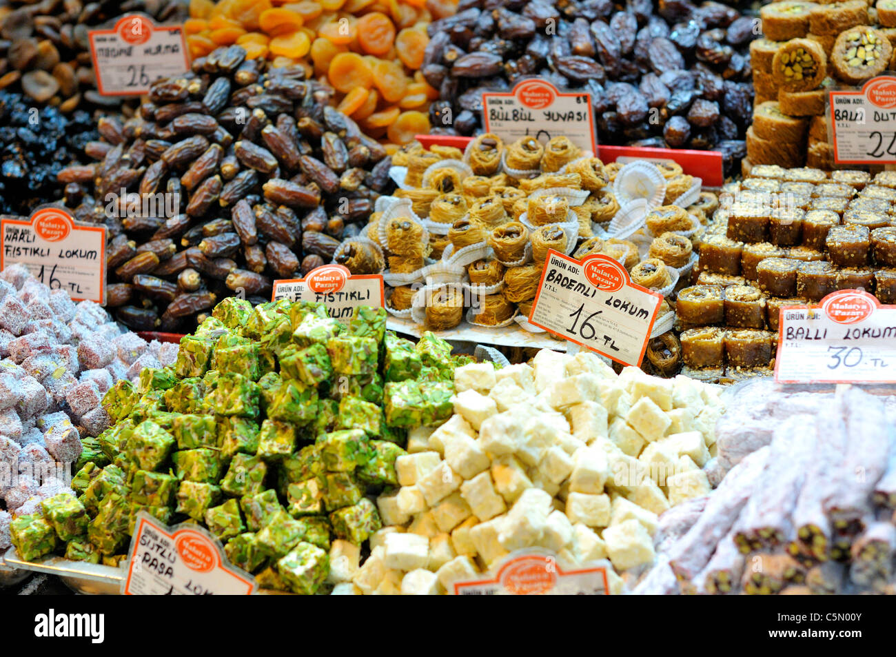 Lokum (Turkish Delight), Spice Market, Istanbul, Turkey ...