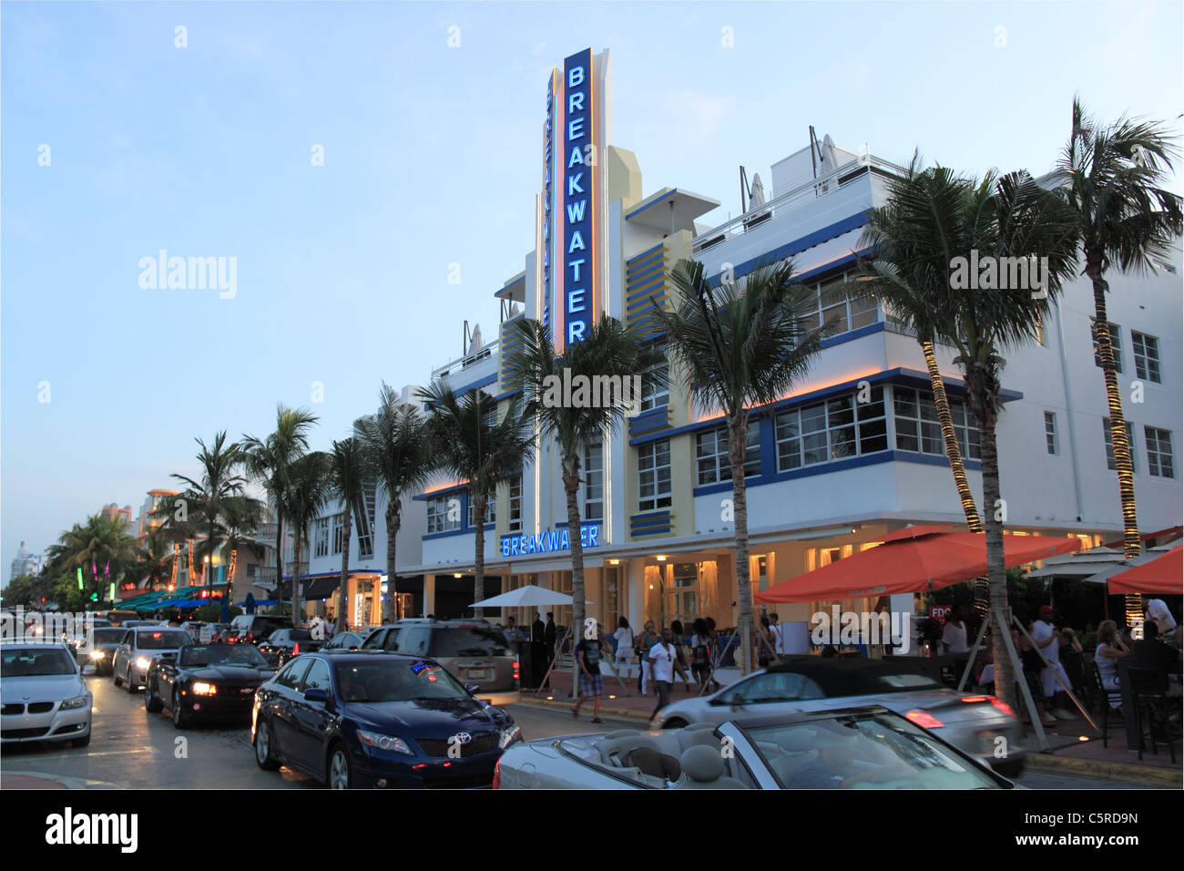 Breakwater Hotel Miami Stock Photos & Breakwater Hotel Miami Stock ...