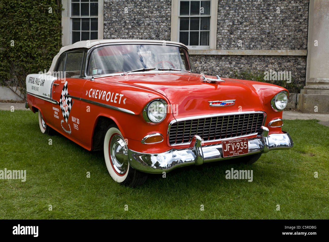 1955 Chevrolet Bel Air Convertible, one time pace car at the Stock ...