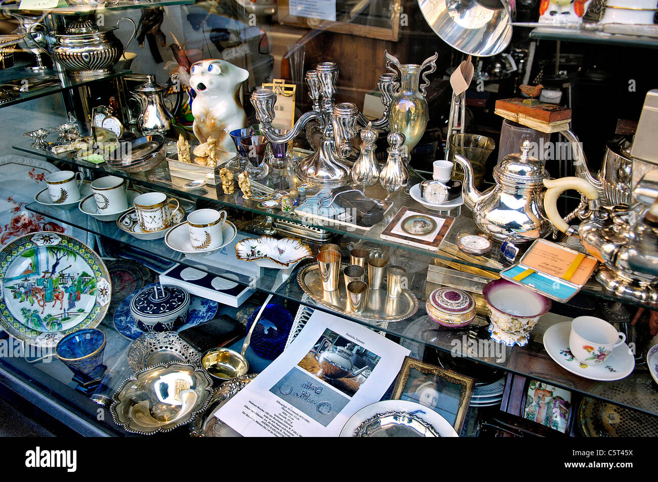 germany bavaria munich antique shop stock photo royalty free image 38024166 alamy. Black Bedroom Furniture Sets. Home Design Ideas
