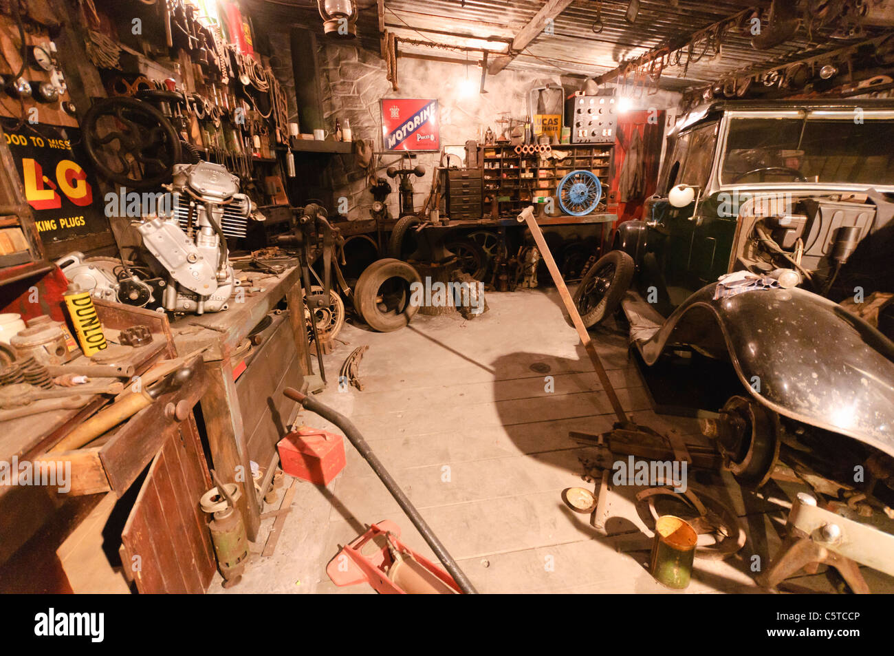 old garage workshop stock photos old garage workshop stock old fashioned mechanics workshop garage stock image