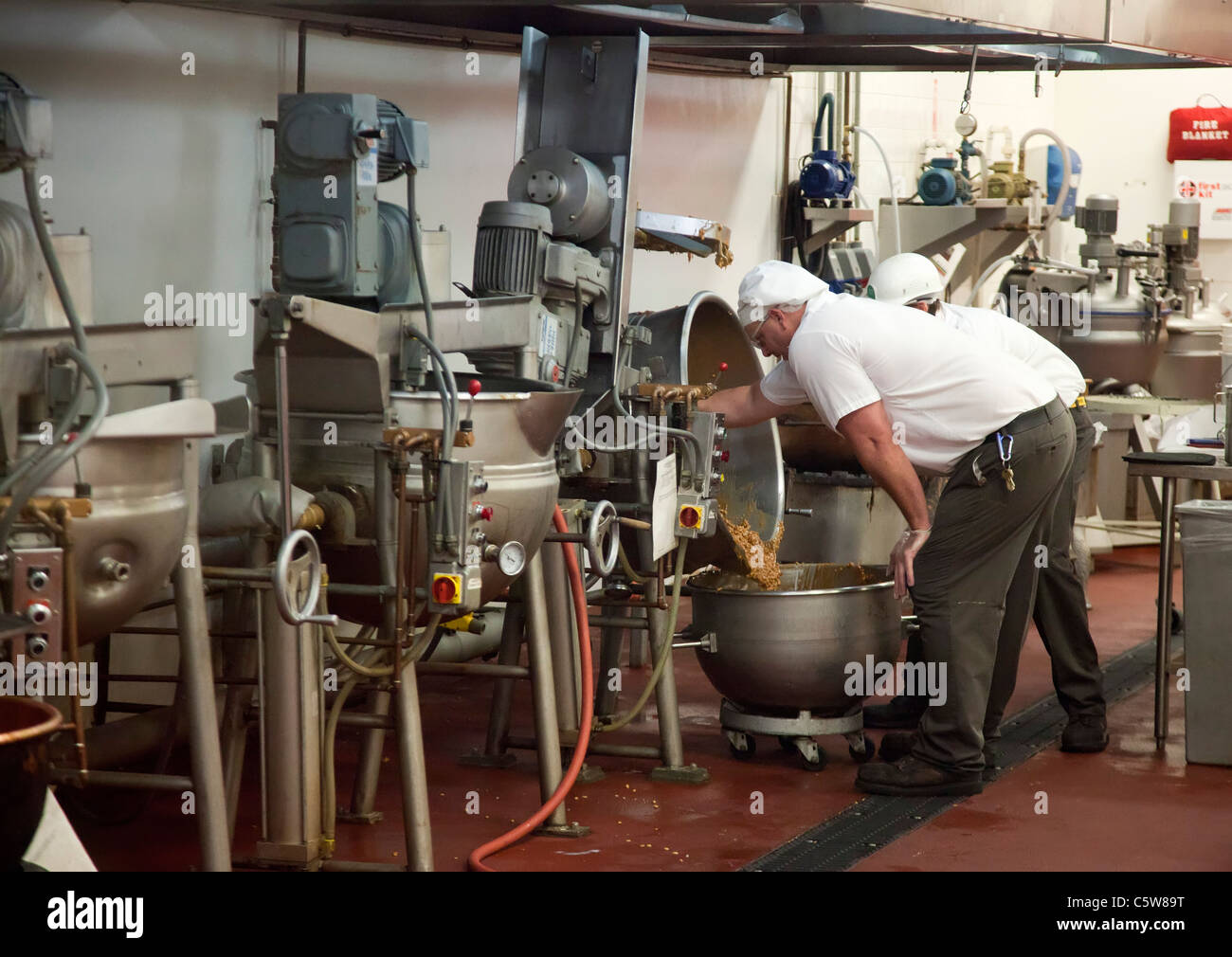 Henderson, Nevada - Workers make gourmet chocolates at the Ethel M ...