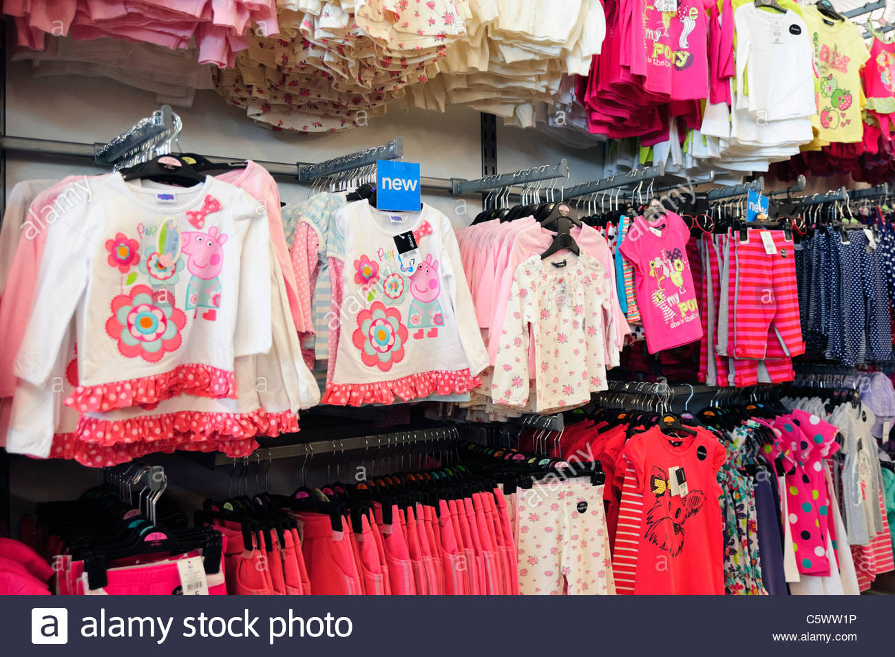 childrens clothes george range for sale in an asda supermarket england C5WW1P childrens clothes stock photos & childrens clothes stock images,Childrens Clothes Retailers Uk