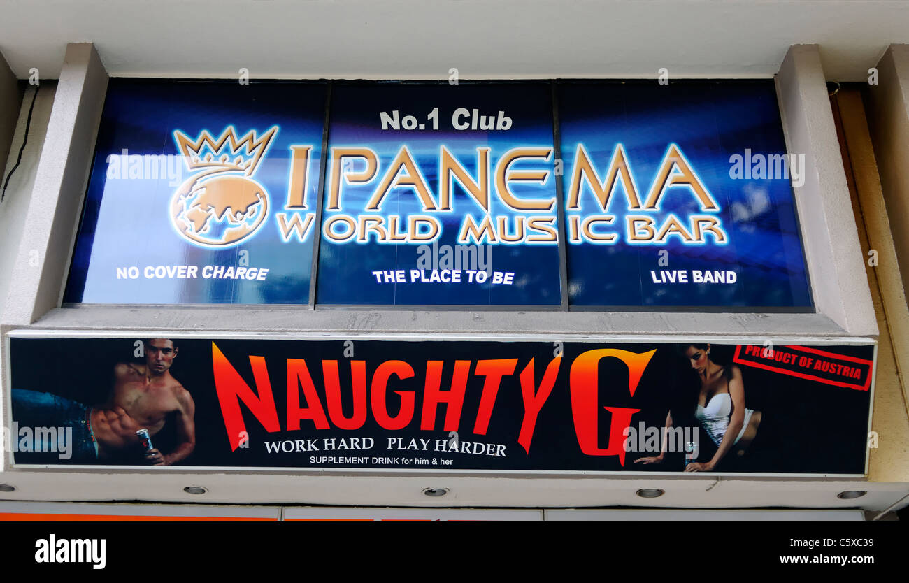 The ipanema club in orchard towers singapore stock photo for 4 floors of whores