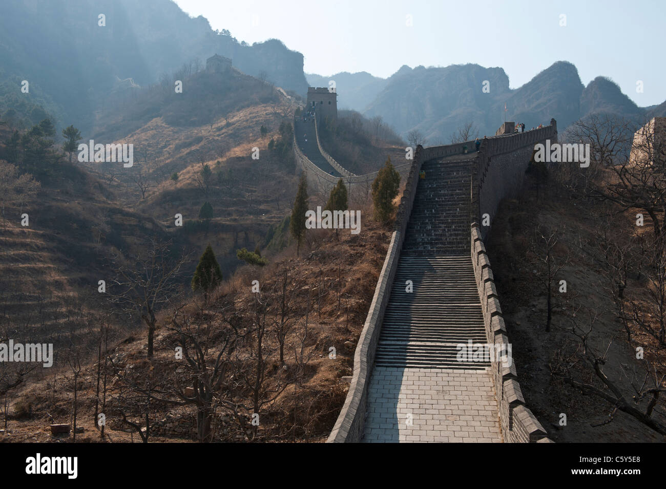 The Great Wall of China at Huangyaguan Pass near Beijing ...
