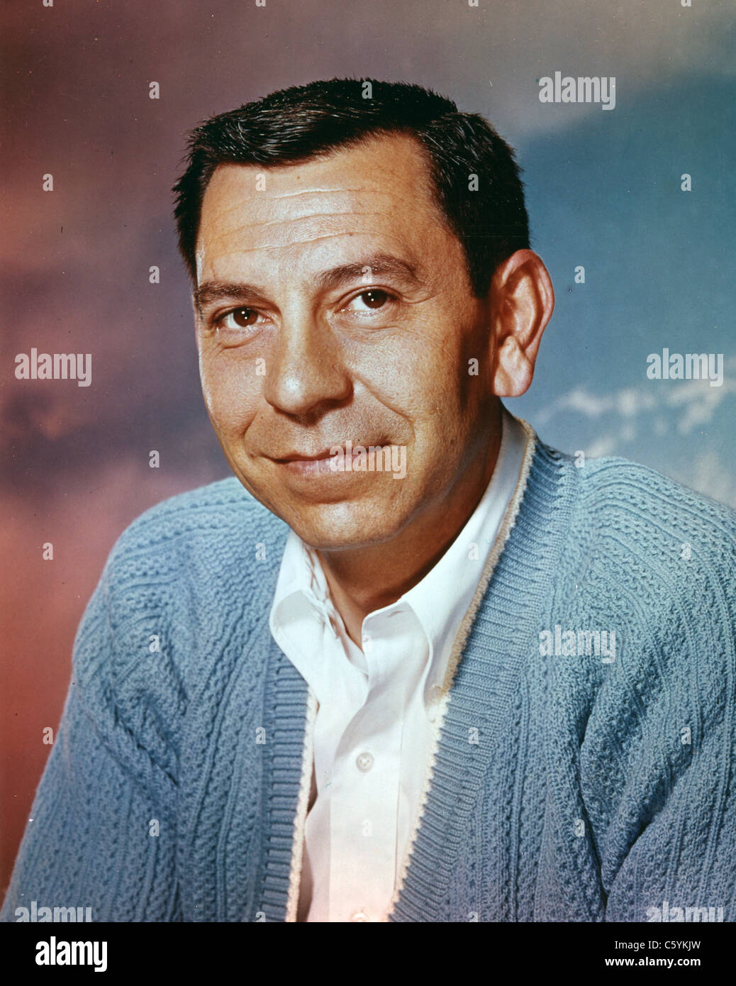 JACK WEBB (1920-1982) US film and TV actor about 1965 ...