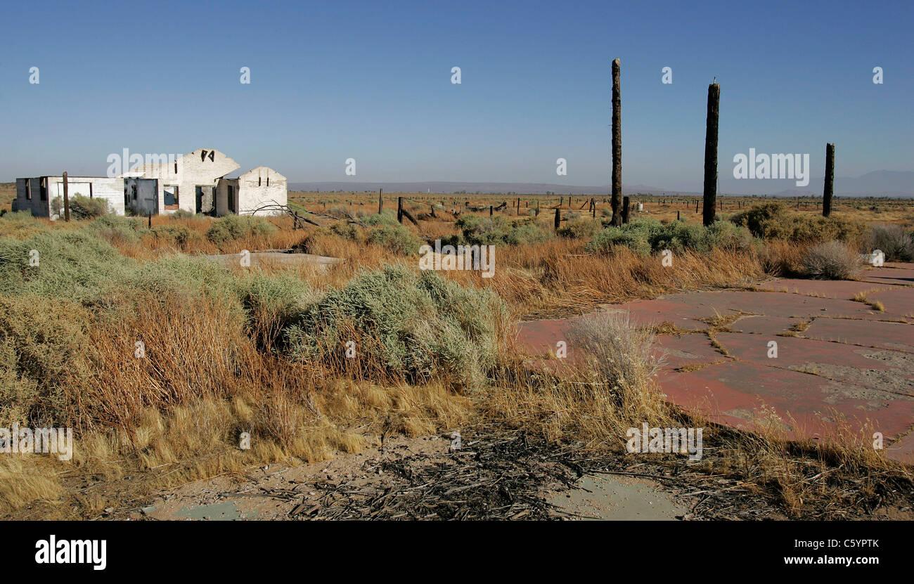 Ruins Of The Pancho Barnes Happy Bottom Riding Club Rancho