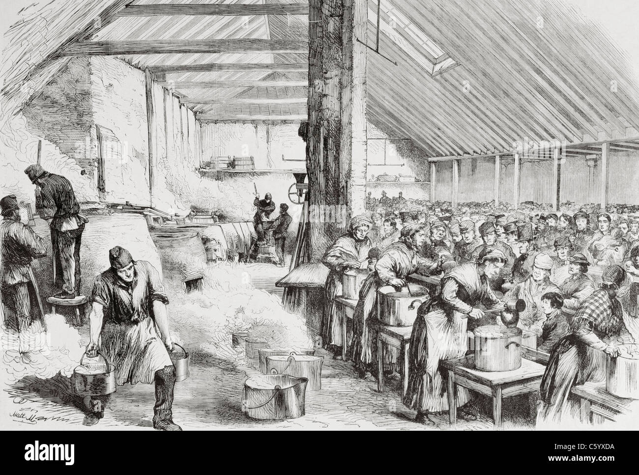 soup kitchens famine] - 100 images - potato famine, in the famine ...