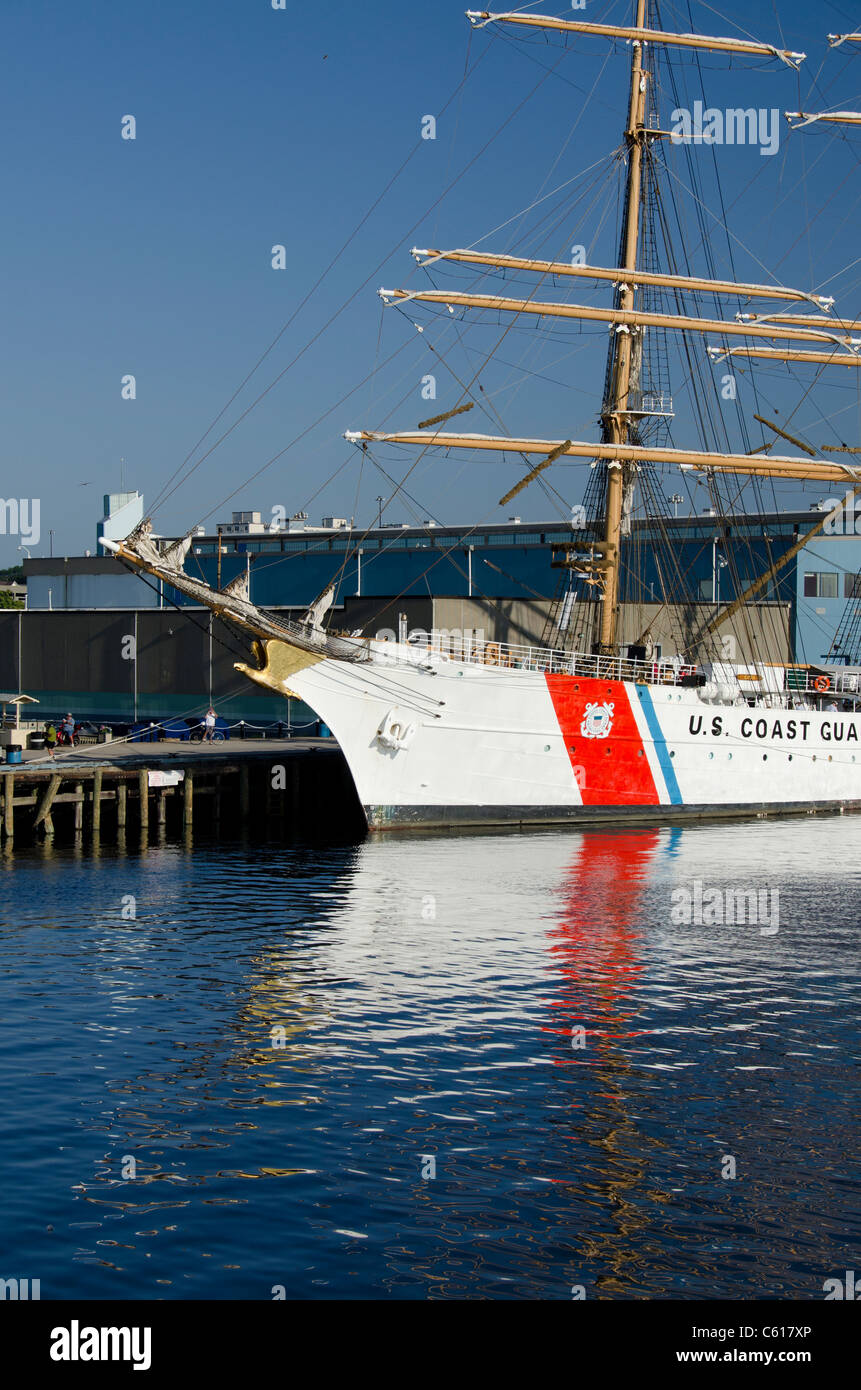 Massachusetts New Bedford US Coast Guard Tall Ship Baroque - Ship museums in us