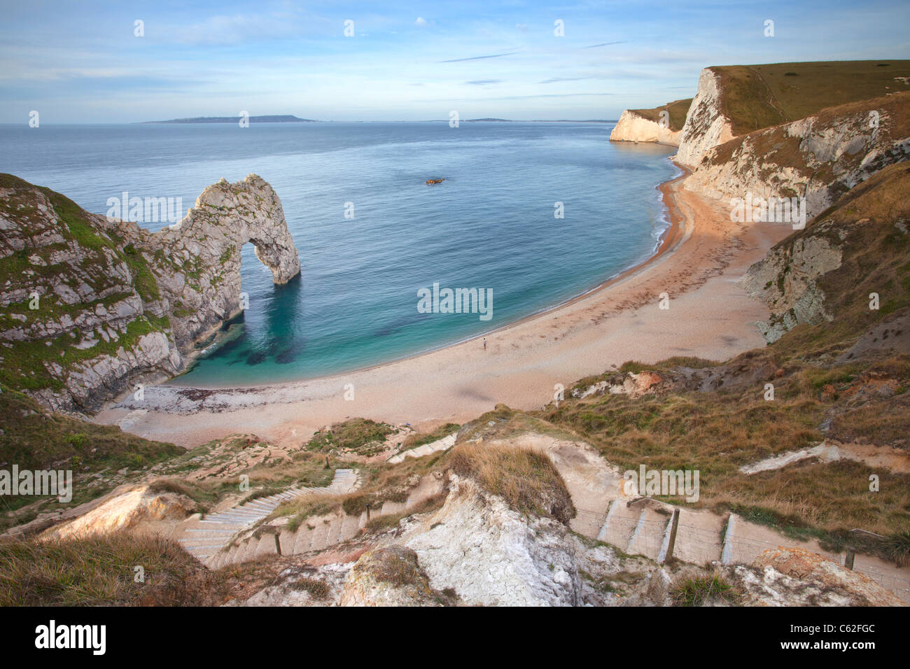 Durdle Door captured early morning Dorset & Durdle Door captured early morning Dorset Stock Photo Royalty ... pezcame.com
