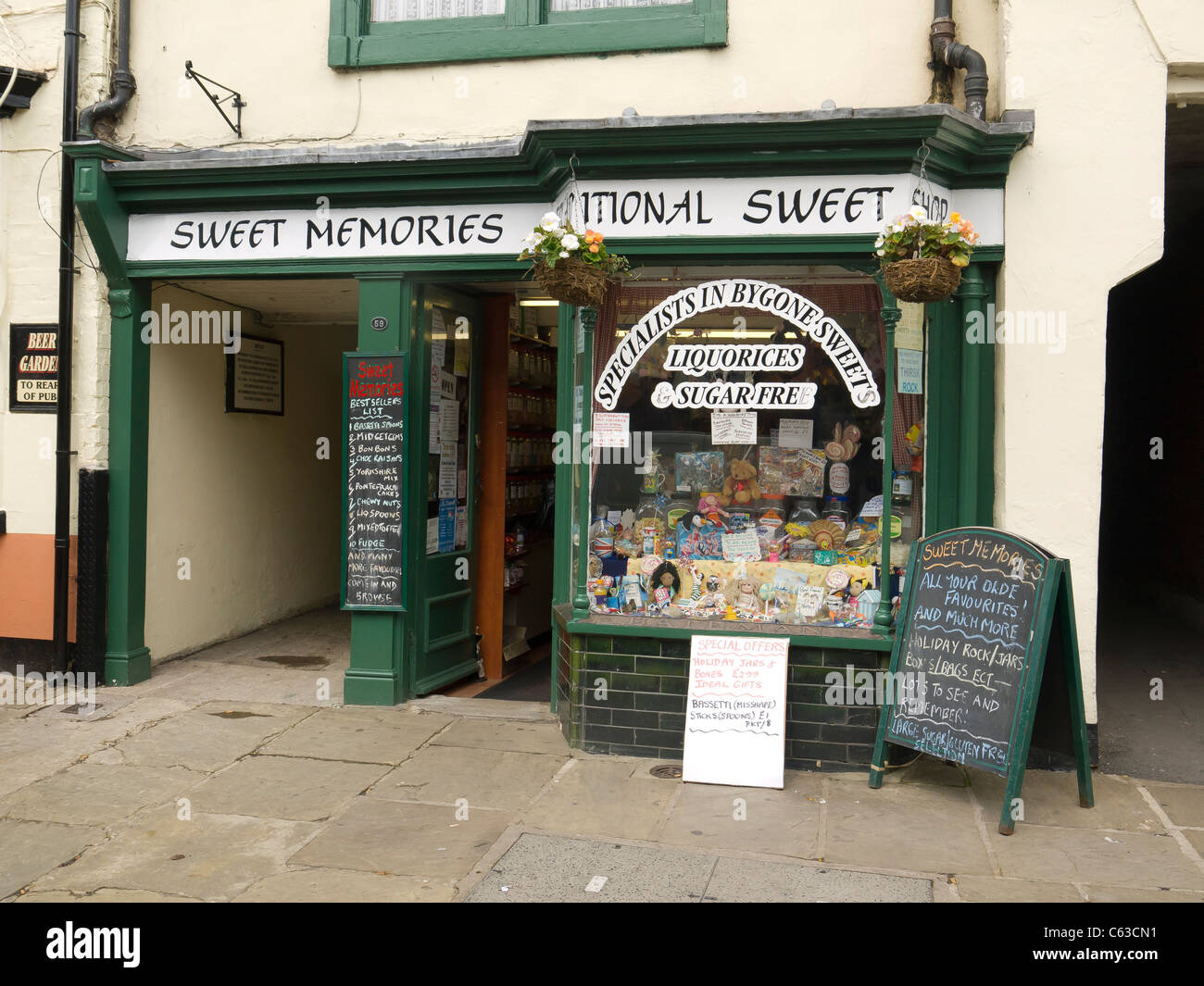 Small Traditional Sweet Shop Selling All Kinds Of Old