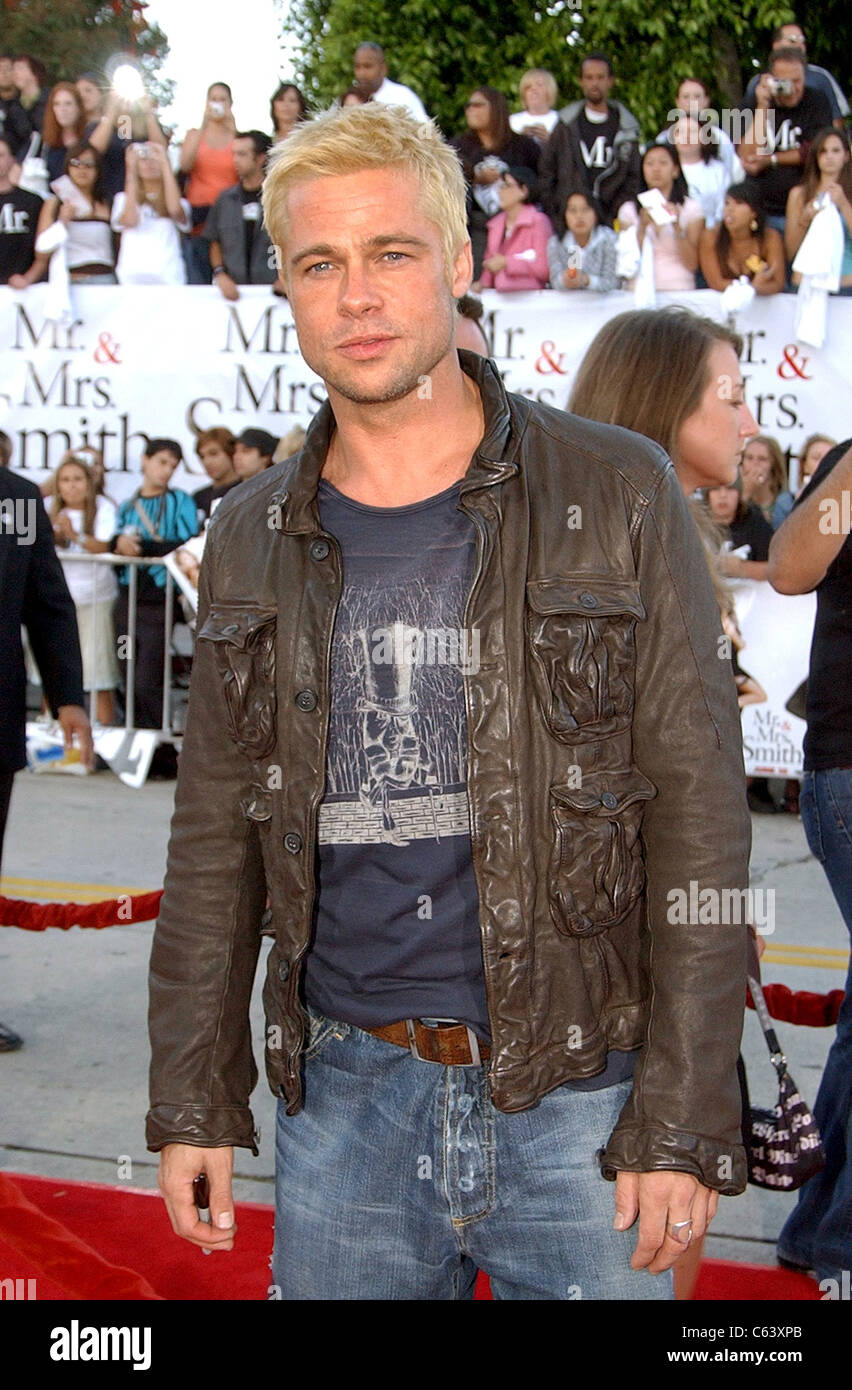 brad pitt mr and mrs smith premiere wwwimgkidcom the