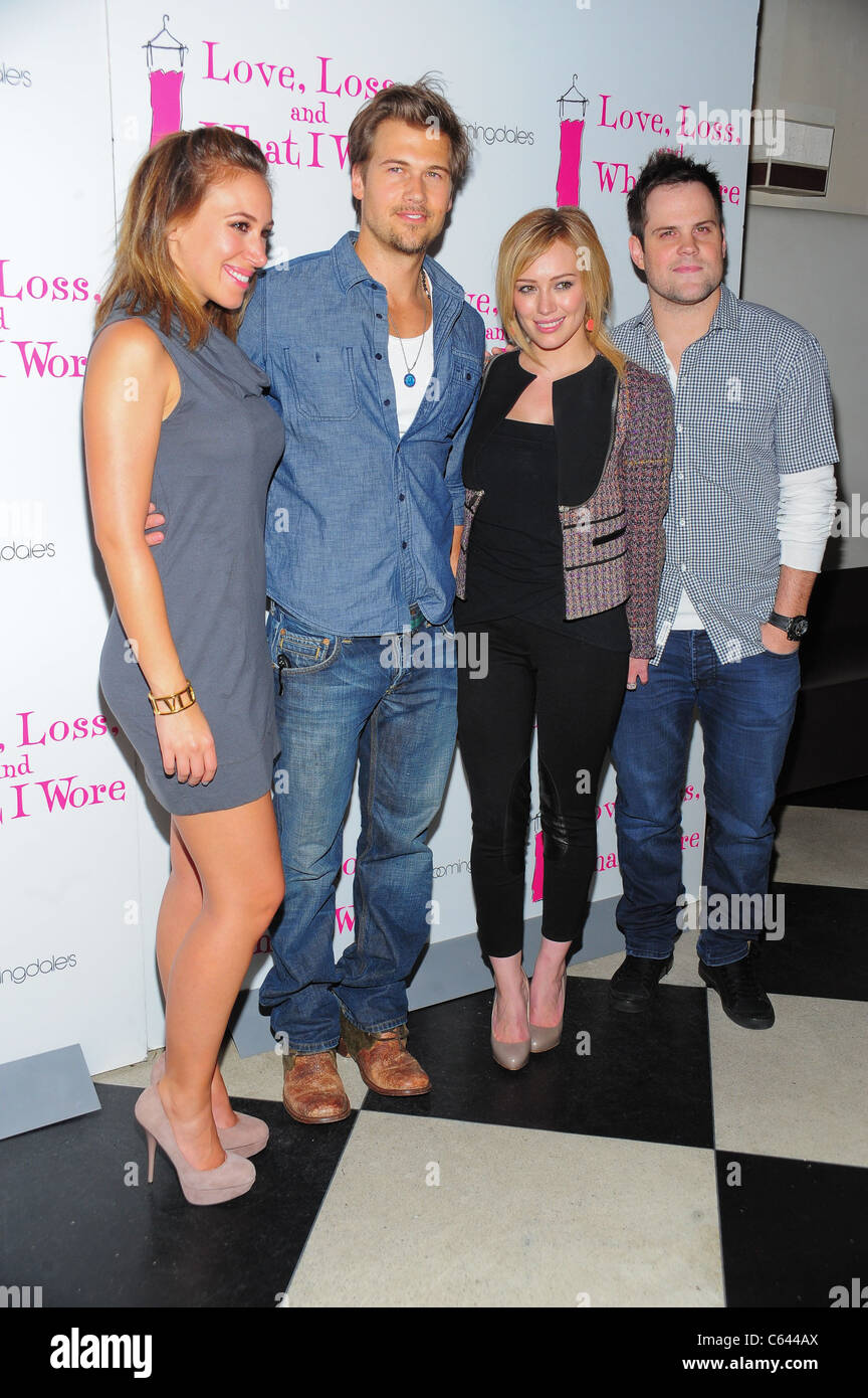 Haylie Duff, Nick Zano, Hilary Duff, Mike Comrie at the ...