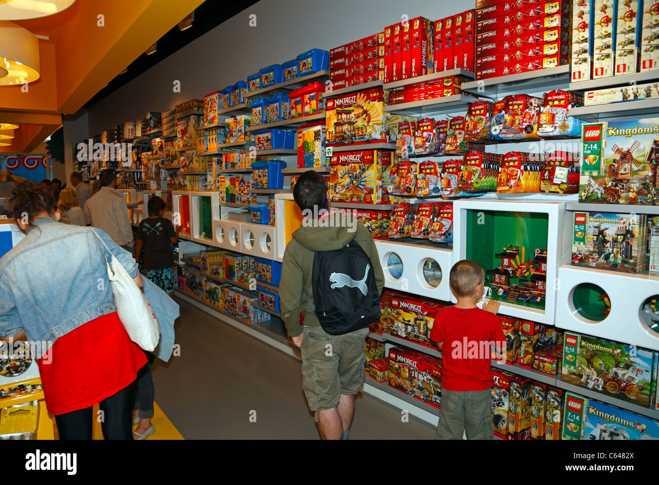 The country's second-largest LEGO Store―only surpassed by the Disney Springs location in Orlando, Florida―is a fanciful space filled with impressive displays, interactive play areas and a .