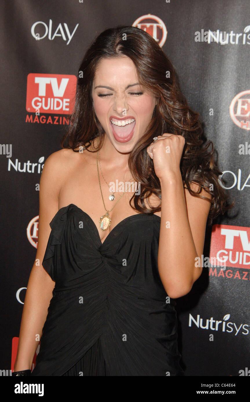 Sarah Shahi at arrivals for TV GUIDE Magazine\'s 2010 HOT LIST ...