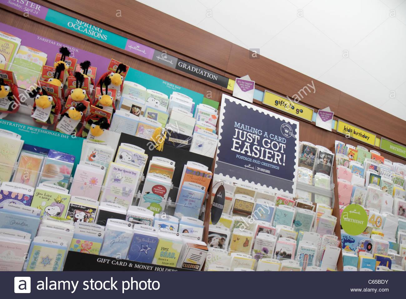 Miami Beach Florida Walgreens business drugstore chain pharmacy ...