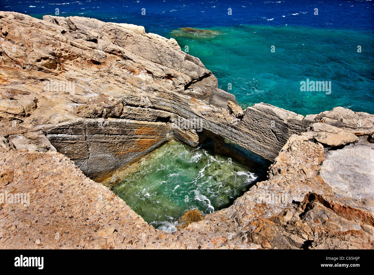 Aquarium fish tank cyprus - Ancient Roman Fish Tanks In A Location Called Kakia Skala