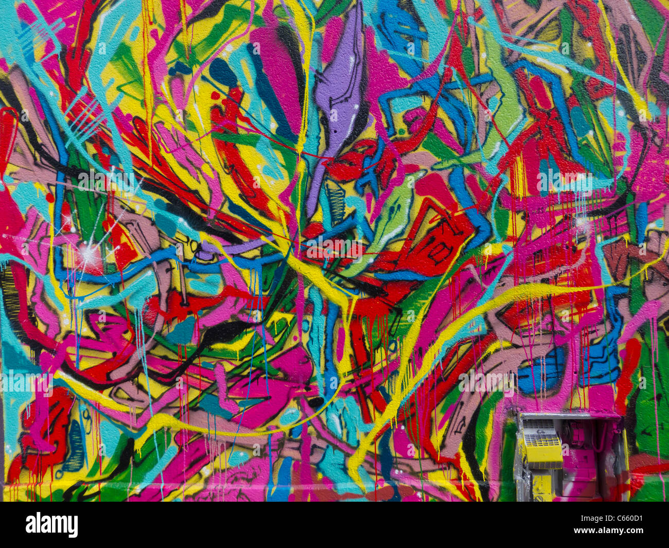 abstract mural painting images