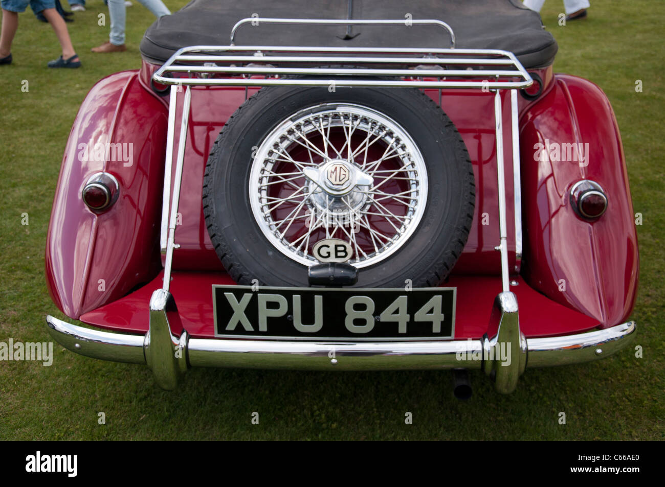 Classic Cars at the Audley End House classic show Stock Photo ...