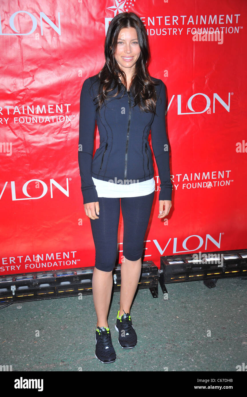 Jessica Biel at a public appearance for 14th Annual EIF REVLON ...