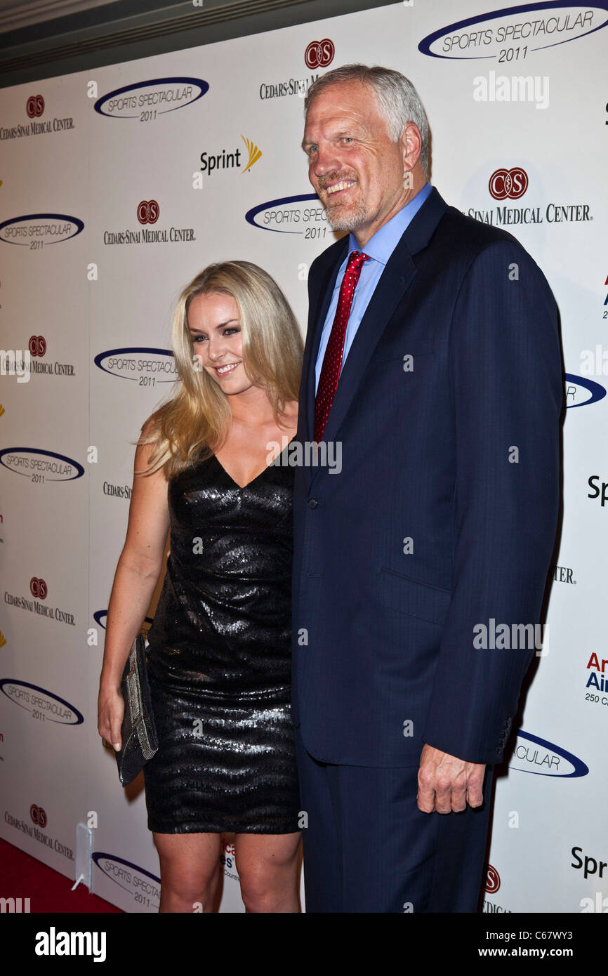 Lindsey Vonn Mark Eaton at arrivals for 26th Anniversary Sports