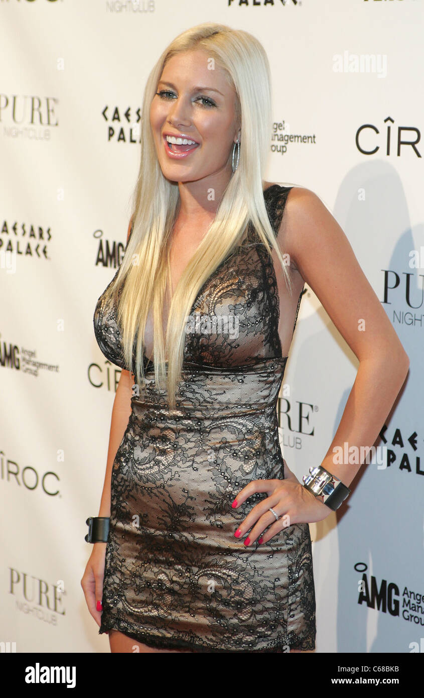 Heidi Montag at arrivals for PURE Nightclub Halloween Party, PURE ...