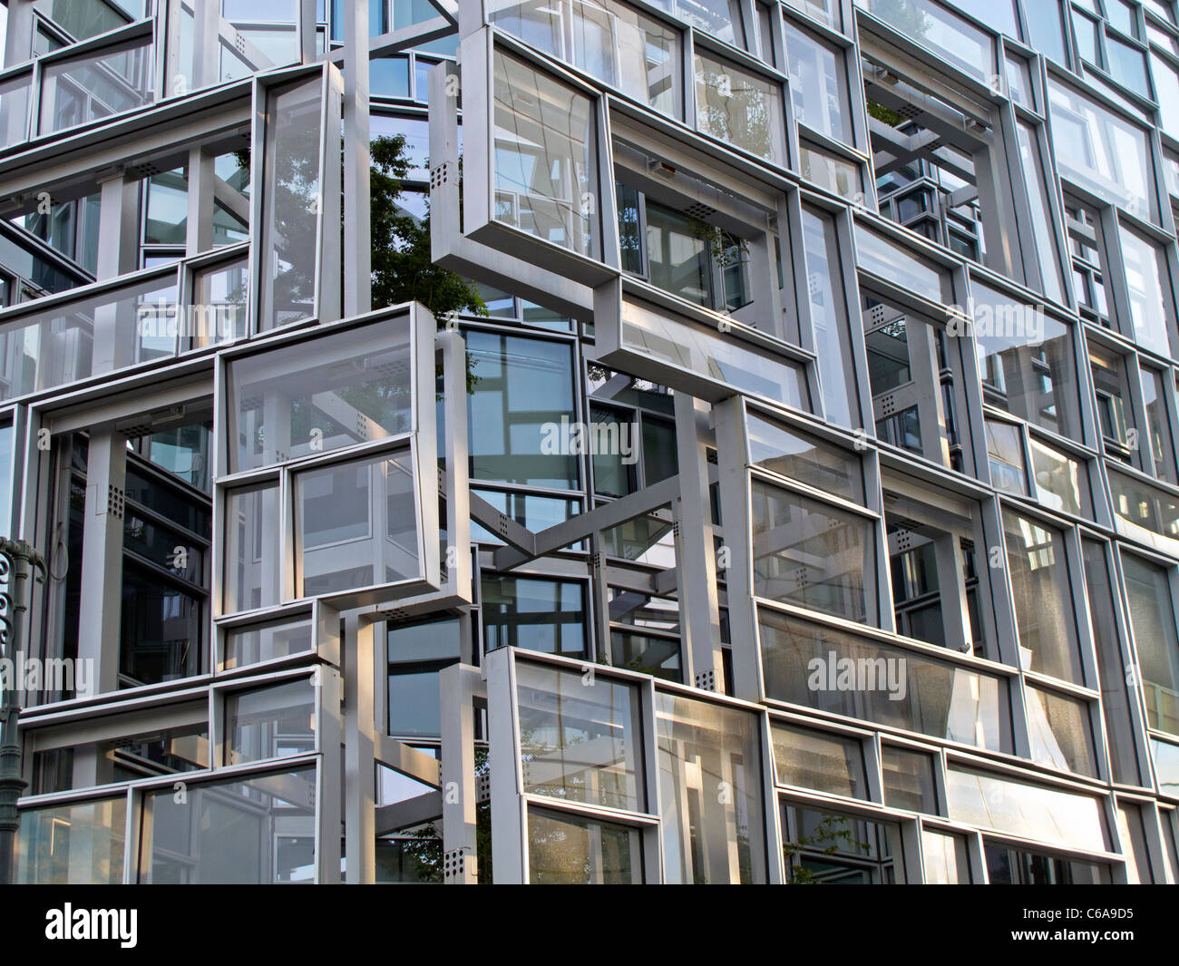 Jean nouvel apartment building at 100 eleventh avenue nyc