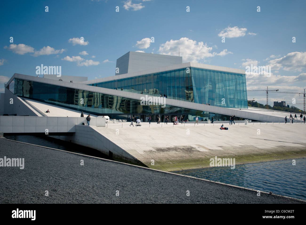 Nice The Oslo Opera House Is The Home Of The Norwegian National Opera And  Ballet, And The National Opera Theatre In Norway Amazing Pictures